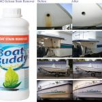 Boat Buddy Gelcoat Stain Remover.