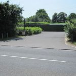 Private Driveway to Thames Houseboat Moorings at Ryepeck Meadow
