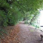 Thames Towpath at Shepperton Residential Moorings